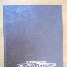 Comics: ILUSTRACION + COMIX INTERNACIONAL - NUMEROS 31, 32, 33, 34, 35 Y 36 CON TAPAS - TOUTAIN (IR). Lote 198298632
