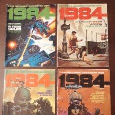 Cómics: 1984 N° 1 5 11 13 14 18 35 40 44 50 54 55 56 58 60 61 62 63 (18 NÚMEROS). Lote 198550390