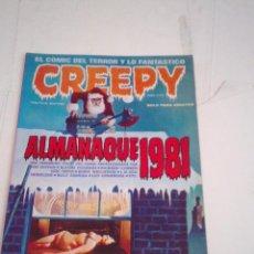 Cómics: CREEPY - ALMANAQUE 1981 - BUEN ESTADO - GORBAUD - CJ 115 . Lote 198588243