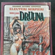 Comics : COMIC TOUTAIN DRUUNA MORBUS GRAVIS 2 ELEUTERI SERPIERI . Lote 199301698