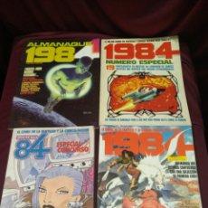 Cómics: ZONA 84 LOTE DE 4 NÚMEROS ALMANAQUE, EXTRA Y ESPECIALES.. Lote 199591816
