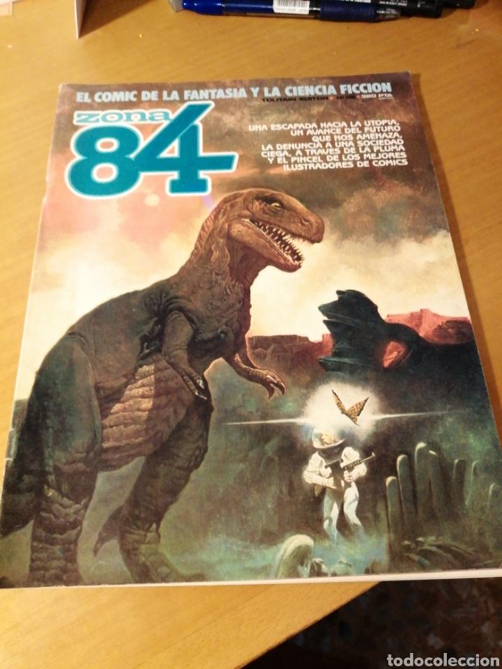 ZONA 84 Nº 28 - TOUTAIN EDITOR (Tebeos y Comics - Toutain - Zona 84)