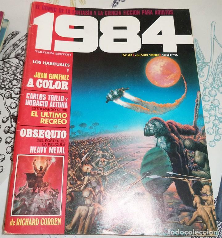 1984 Nº 41 TOUTAIN 1982 CON POSTER DE RICHARD CORBEN (Tebeos y Comics - Toutain - 1984)