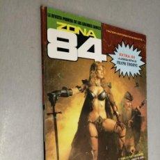 Comics : ZONA 84 Nº 84 EXTRA, LA AVENTURA DE FRANK THORNE / TOUTAIN EDITOR 1984. Lote 199745581