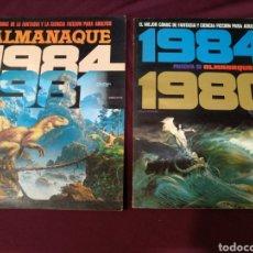 Cómics: 2 ALMANAQUES 1984, 1980Y 1981. Lote 199910643