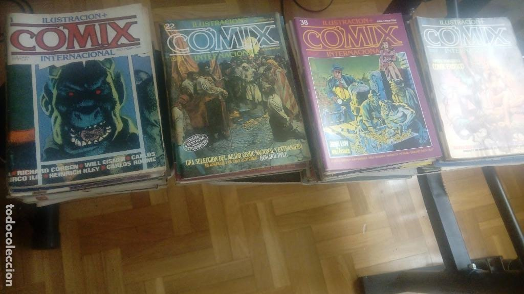 COMIX INTERNACIONAL. 70 NÚMEROS. ¡¡COMPLETA!! TOUTAIN (Tebeos y Comics - Toutain - Comix Internacional)