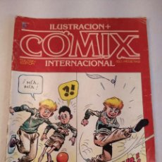 Cómics: REVISTA Nº 5 ILUSTRACION + COMIX INTERNACIONAL TOUTAIN EDICIONES AÑO 1980.. Lote 201201757