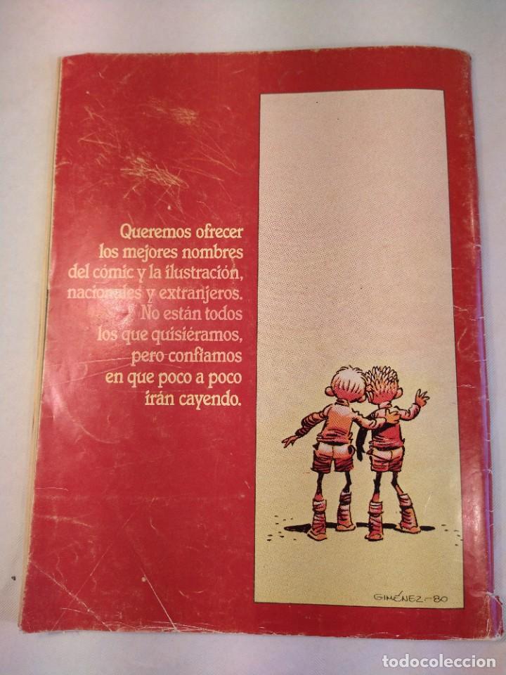 Cómics: REVISTA Nº 5 ILUSTRACION + COMIX INTERNACIONAL TOUTAIN EDICIONES AÑO 1980. - Foto 2 - 201201757