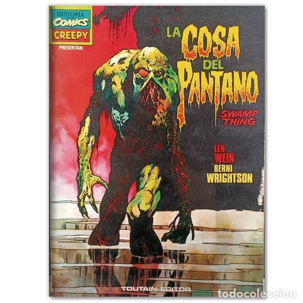 LA COSA DEL PANTANO (Tebeos y Comics - Toutain - Álbumes)