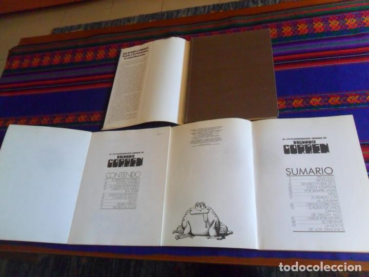 Cómics: TAPA DURA SOBRECUBIERTA VUELO A LA FANTASÍA, EL EXTRAORDINARIO MUNDO DE RICHARD CORBEN 1 Y 2. RAROS. - Foto 2 - 201467545