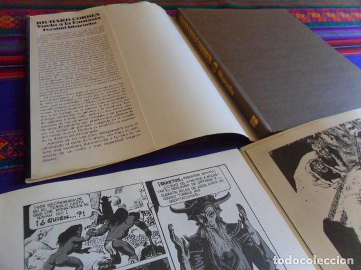 Cómics: TAPA DURA SOBRECUBIERTA VUELO A LA FANTASÍA, EL EXTRAORDINARIO MUNDO DE RICHARD CORBEN 1 Y 2. RAROS. - Foto 3 - 201467545