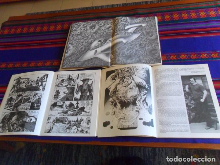 Cómics: TAPA DURA SOBRECUBIERTA VUELO A LA FANTASÍA, EL EXTRAORDINARIO MUNDO DE RICHARD CORBEN 1 Y 2. RAROS. - Foto 4 - 201467545
