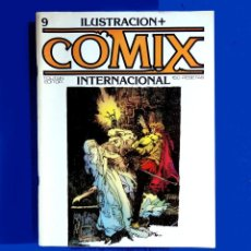 Cómics: ILUSTRACIÓN + COMIX INTERNACIONAL, Nº 9 - TOUTAIN EDITOR, S. A.- 1981 - ORIGINAL. Lote 202586532
