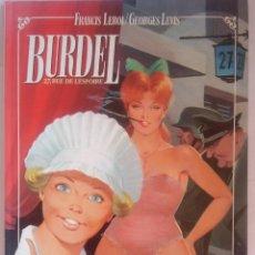 Cómics: BURDEL 27 RUE DE L ESPOIRE. Lote 202783507