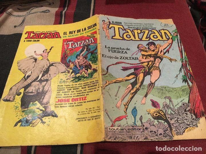 EL NUEVO TARZAN Nº 6- TOUTAIN EDITOR (Tebeos y Comics - Toutain - Otros)