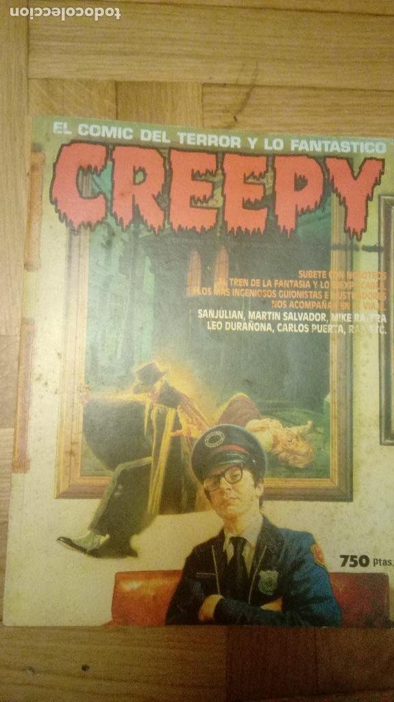 CREEPY SEGUNDA ÉPOCA RETAPADO CON NÚMEROS 13, 14 ,15 (Tebeos y Comics - Toutain - Creepy)
