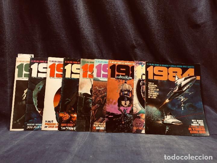 LOTE 1984 9 NUMEROS 6 7 8 9 10 11 12 13 14 AÑO 1979 TOUTAIN 28X21CMS (Tebeos y Comics - Toutain - 1984)
