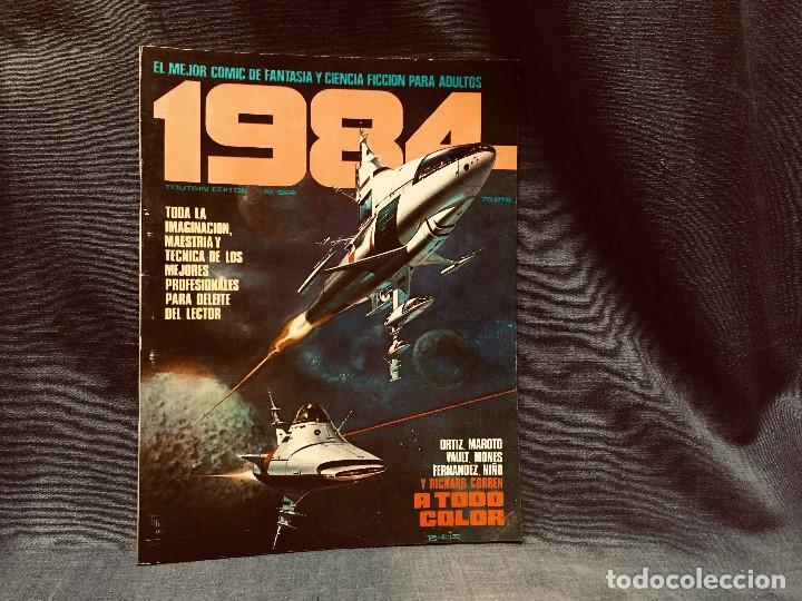 Cómics: LOTE 1984 9 NUMEROS 6 7 8 9 10 11 12 13 14 AÑO 1979 TOUTAIN 28X21CMS - Foto 2 - 203230836