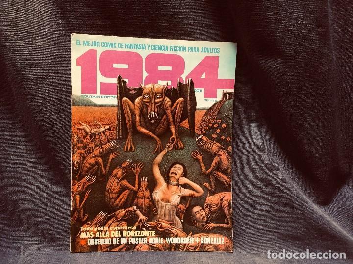 Cómics: LOTE 1984 9 NUMEROS 6 7 8 9 10 11 12 13 14 AÑO 1979 TOUTAIN 28X21CMS - Foto 5 - 203230836