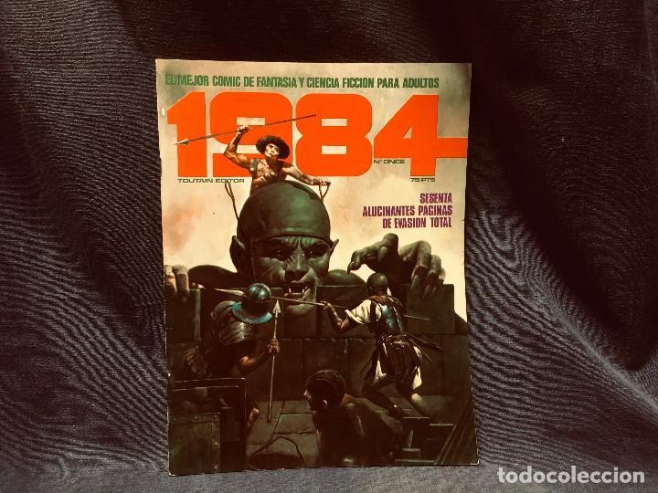 Cómics: LOTE 1984 9 NUMEROS 6 7 8 9 10 11 12 13 14 AÑO 1979 TOUTAIN 28X21CMS - Foto 6 - 203230836