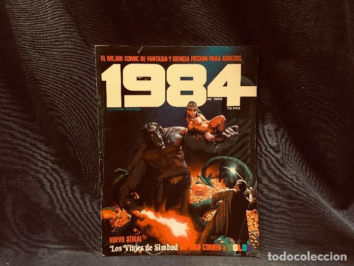 Cómics: LOTE 1984 9 NUMEROS 6 7 8 9 10 11 12 13 14 AÑO 1979 TOUTAIN 28X21CMS - Foto 7 - 203230836
