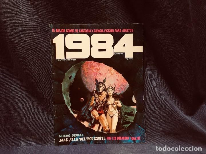 Cómics: LOTE 1984 9 NUMEROS 6 7 8 9 10 11 12 13 14 AÑO 1979 TOUTAIN 28X21CMS - Foto 9 - 203230836