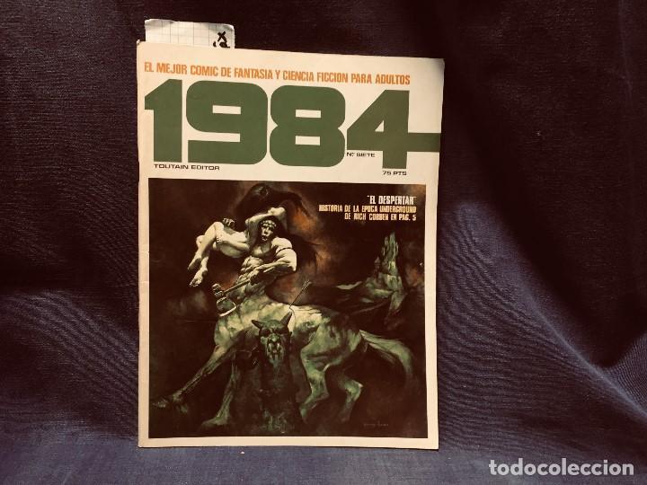 Cómics: LOTE 1984 9 NUMEROS 6 7 8 9 10 11 12 13 14 AÑO 1979 TOUTAIN 28X21CMS - Foto 10 - 203230836