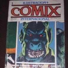 Cómics: ILUSTRACION + COMIX INTERNACIONAL. NUMERO 1. Lote 203440452