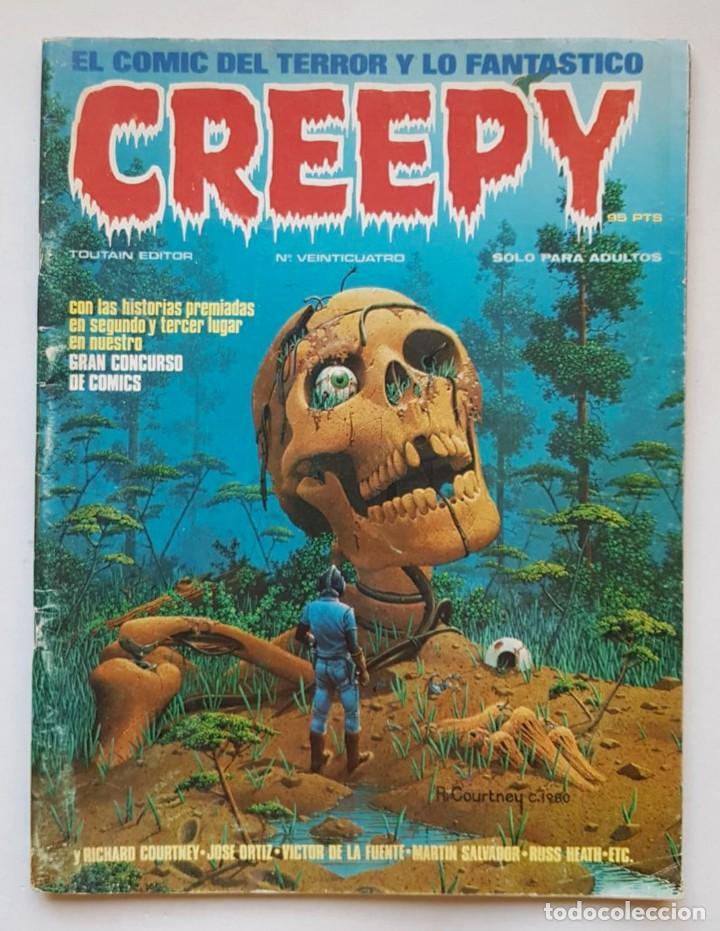 CREEPY Nº 24 - TOUTAIN EDITOR - EL COMIC DEL TERROR Y LO FANTASTICO (Tebeos y Comics - Toutain - Creepy)