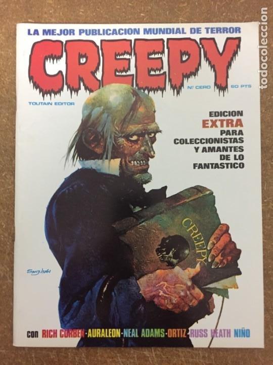 CREEPY Nº 0 (Tebeos y Comics - Toutain - Creepy)