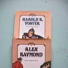 Comics: CUANDO EL COMIC ES NOSTALGIA VOL2 FOSTER, VOL3 RAYMOND, SALVADOR VAZQUEZ DE PARGA. Lote 204126250