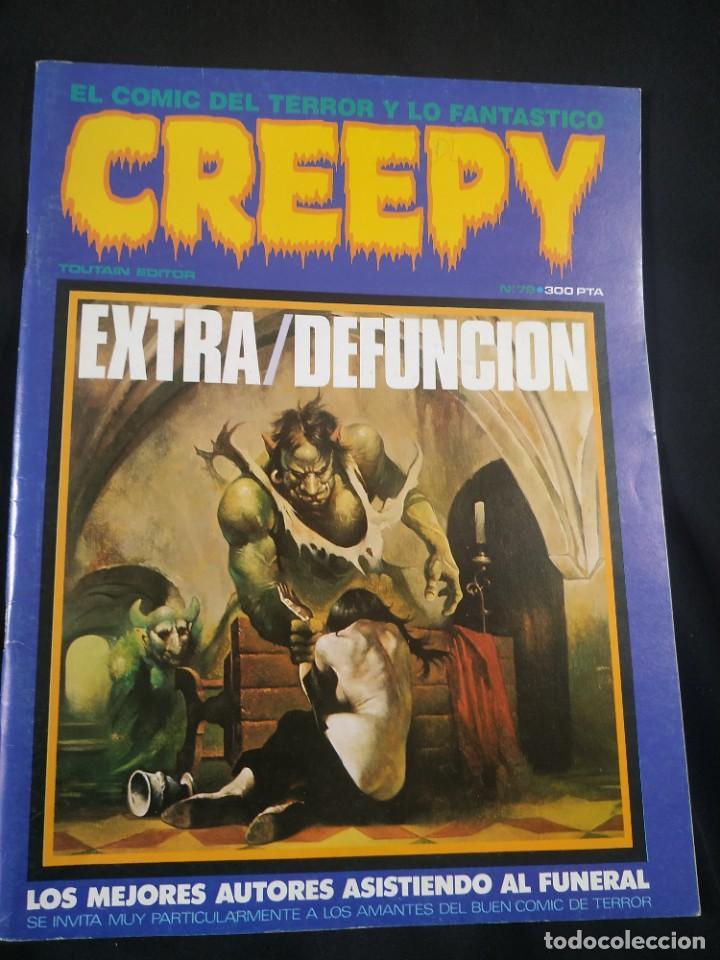 CREEPY EXTRA DEFUNCION (Tebeos y Comics - Toutain - Creepy)