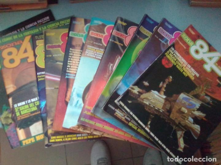 PACK ZONA 84 10 COMICS - 1-2-6-7-10-11-12-13-14-15 / SEV2020 (Tebeos y Comics - Toutain - Zona 84)
