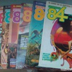 Cómics: PACK ZONA 84 / 8 COMICS - 16,17,18,19,20,21,22,24 / SEV2020. Lote 204246356