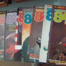 Cómics: PACK ZONA 84 / 8 COMICS - 23,26,27,28,30 AL 33 / SEV2020. Lote 204246706