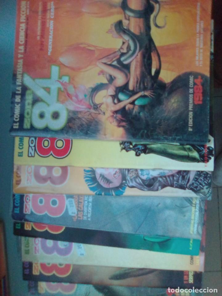 PACK ZONA 84 / 8 COMICS - 29-34-35-37-40-42-43-45 / SEV2020 (Tebeos y Comics - Toutain - Zona 84)