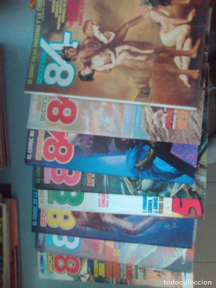 PACK ZONA 84 / 8 COMICS - 47 AL 54 / SEV2020 (Tebeos y Comics - Toutain - Zona 84)