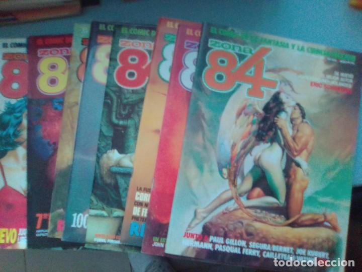 PACK ZONA 84 / 8 COMICS - 55 AL 60, 62,66 / SEV2020 (Tebeos y Comics - Toutain - Zona 84)