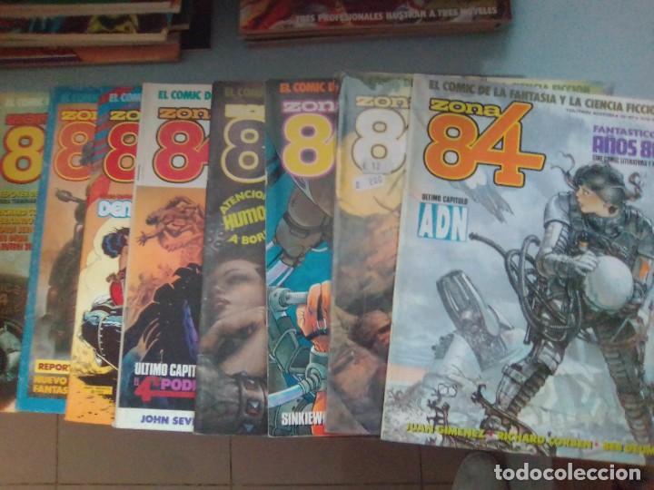 PACK ZONA 84 / 8 COMICS - 67 AL 70,72-73-76-80 / SEV2020 (Tebeos y Comics - Toutain - Zona 84)