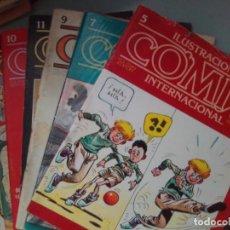 Cómics: PACK 8 EL COMIX / SEV2020. Lote 204251488