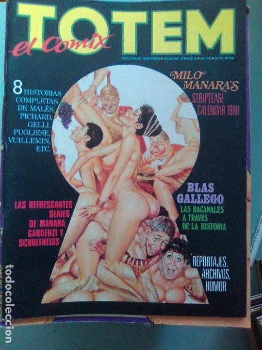 TOTEM EL COMIX 14 / SEV2020 (Tebeos y Comics - Toutain - Otros)