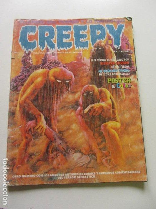 CREEPY Nº 10 2ª ÉPOCA TOUTAIN MAS A LA VENTA MIRA TUS FALTAS CX57 (Tebeos y Comics - Toutain - Creepy)