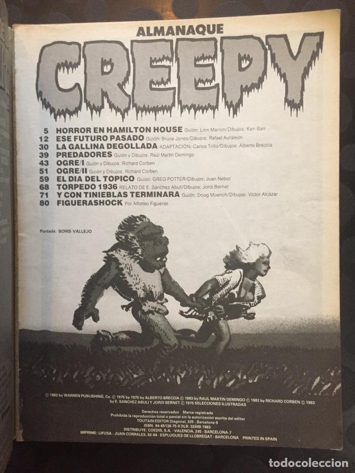 Cómics: CREEPY ALMANAQUE 1984 N.5 - Foto 3 - 204527952