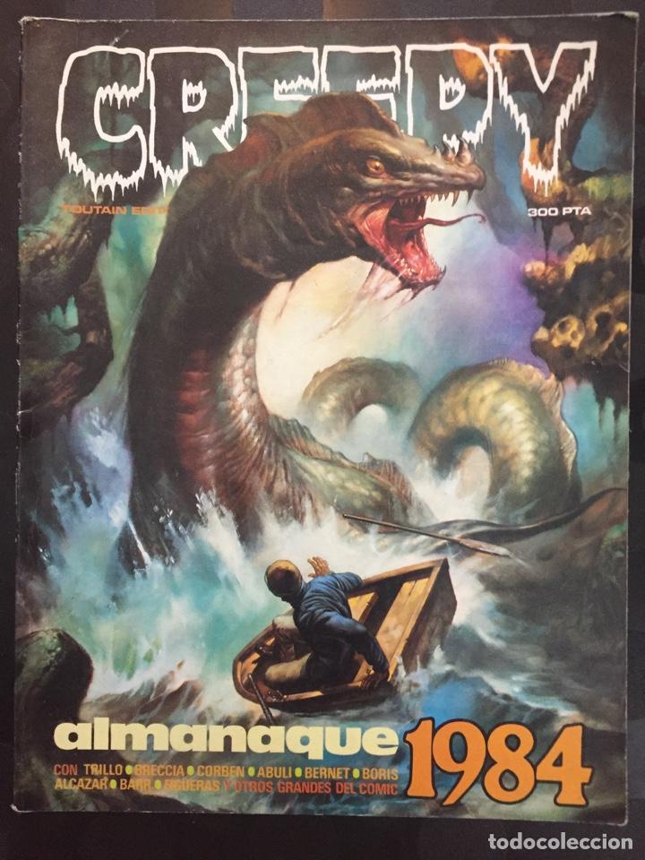 CREEPY ALMANAQUE 1984 N.5 (Tebeos y Comics - Toutain - Creepy)