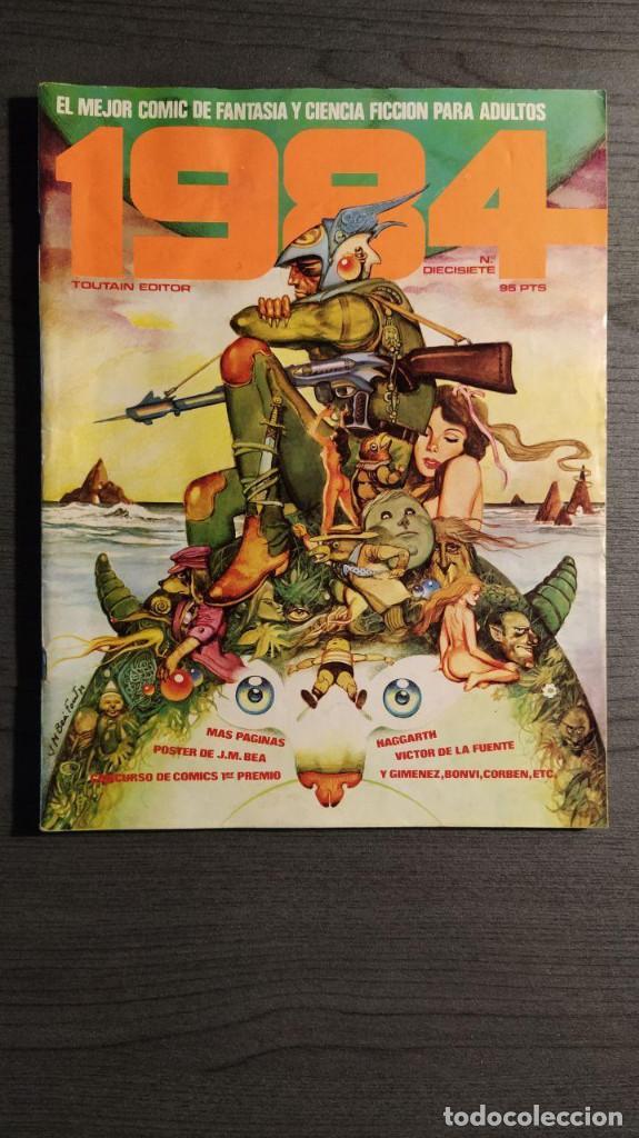 1984 Nº 17 (Tebeos y Comics - Toutain - 1984)