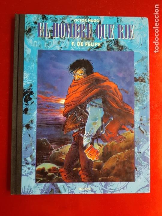Cómics: COMIC-EL HOMBRE QUE RÍE-F.DE FELIPE-TOUTAIN-EXCELENTE-1992-COLECCIONISTAS-VER FOTOS - Foto 3 - 204728546