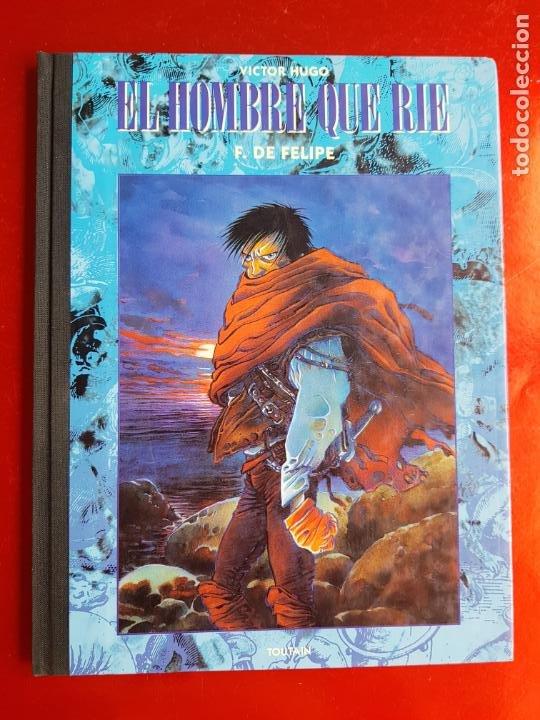Cómics: COMIC-EL HOMBRE QUE RÍE-F.DE FELIPE-TOUTAIN-EXCELENTE-1992-COLECCIONISTAS-VER FOTOS - Foto 5 - 204728546