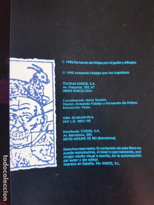 Cómics: COMIC-EL HOMBRE QUE RÍE-F.DE FELIPE-TOUTAIN-EXCELENTE-1992-COLECCIONISTAS-VER FOTOS - Foto 10 - 204728546