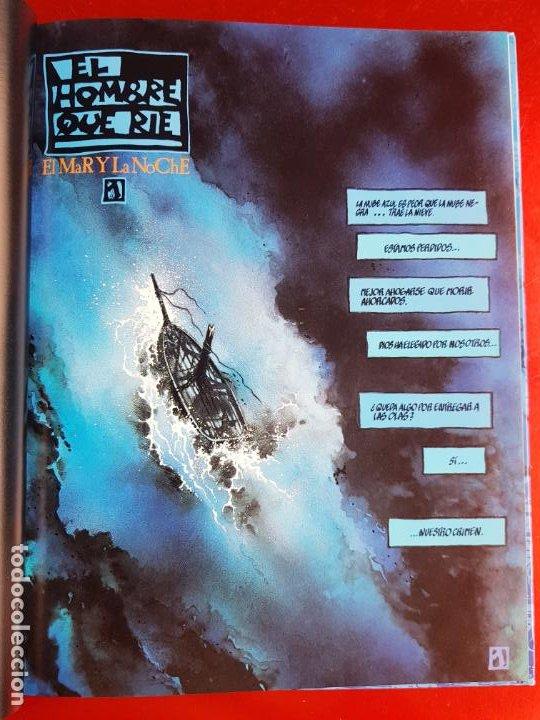 Cómics: COMIC-EL HOMBRE QUE RÍE-F.DE FELIPE-TOUTAIN-EXCELENTE-1992-COLECCIONISTAS-VER FOTOS - Foto 11 - 204728546
