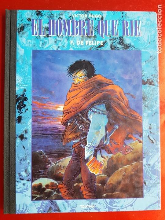 Cómics: COMIC-EL HOMBRE QUE RÍE-F.DE FELIPE-TOUTAIN-EXCELENTE-1992-COLECCIONISTAS-VER FOTOS - Foto 16 - 204728546